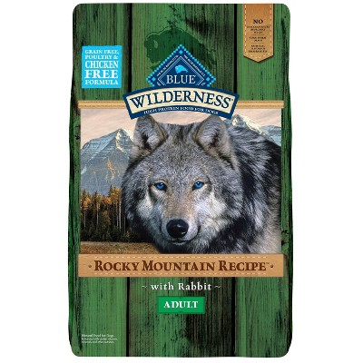 Blue Buffalo Wilderness Grain Free Rocky Mountain Recipe with Rabbit Adult Dry Dog Food