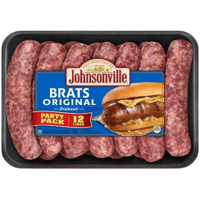 Johnsonville Original Bratwurst Party Pack - 45.6oz/12ct