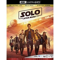Solo: A Star Wars Story (4K/UHD + 2 Blu-Ray + Digital Code)