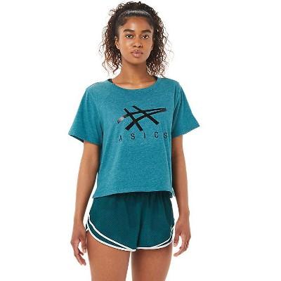 ASICS Women's Short Sleeve Boxy Tee Apparel 2032B969