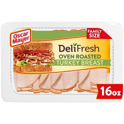 Oscar Mayer Deli Fresh Sliced Oven Roasted Turkey Breast - 16oz