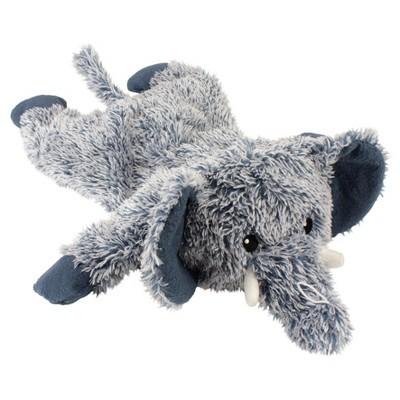 Blue stuffed animal dog