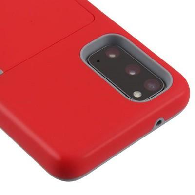MYBAT Poket Hard Hybrid Plastic TPU Case w/card slot For Samsung Galaxy S20