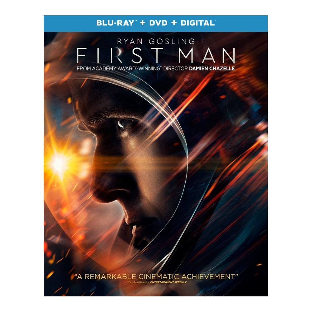 First Man (Blu-ray + DVD + Digital) Compare