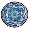 "Certified International Talavera by Nancy Green Melamine Salad Plates 9"" Blue - Set of 6 - image 2 of 3"