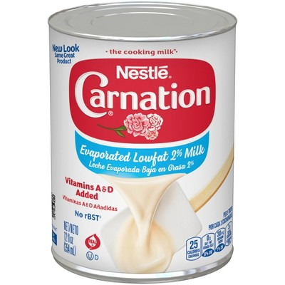 Canned & Powdered Milk: Carnation Low Fat Evaporated Milk