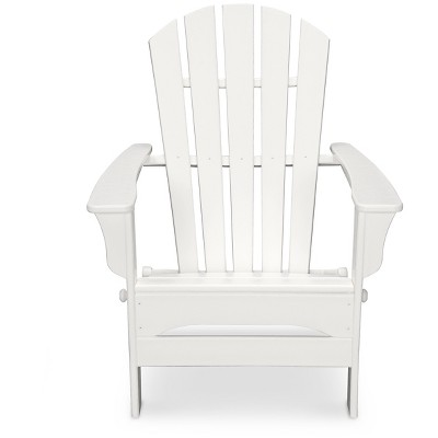 Magnificent Polywood St Croix Patio Adirondack Chair White Bralicious Painted Fabric Chair Ideas Braliciousco