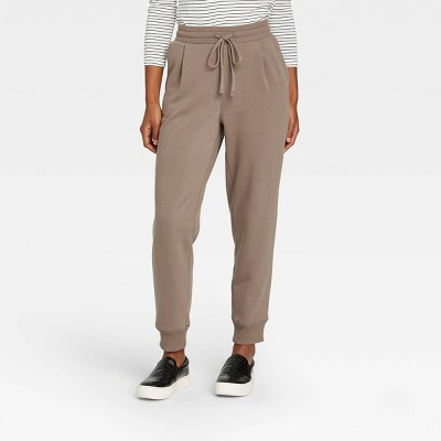 Women's High-Rise Ankle Jogger Pants - A New Day™