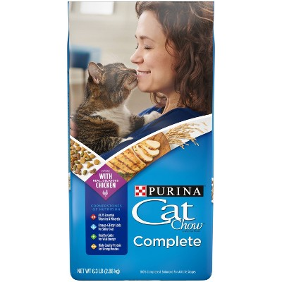 Purina Cat Chow Complete with Chicken Adult Dry Cat Food