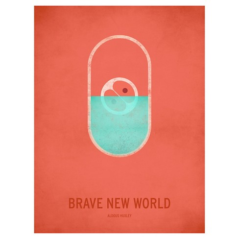 Brave New World by Christian Jackson Unframed Wall Art Print - image 1 of 2