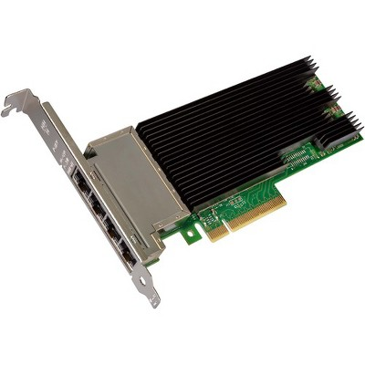 Intel® Ethernet Converged Network Adapter X710-T4 - PCI Express 3.0 x8 - 4 Port(s) - 4 - Twisted Pair