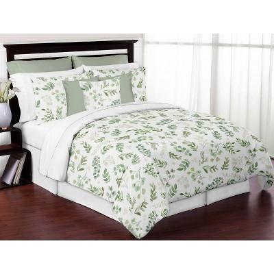 3pc Queen Botanical Leaf Bedding Set - Sweet Jojo Designs