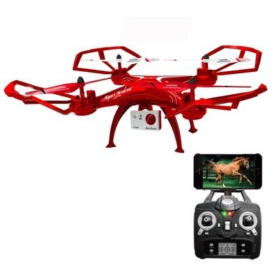 Swift Stream RC Z-10 Wi-Fi Camera Drone - Red