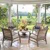 Teak Zuma Patio Lounge Chair Gray - Cambridge Casual - image 2 of 4