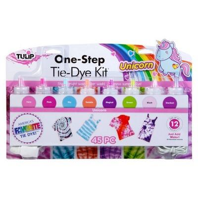 Tulip 45pc One-Step Tie-Dye 8 Color Kit - Unicorn