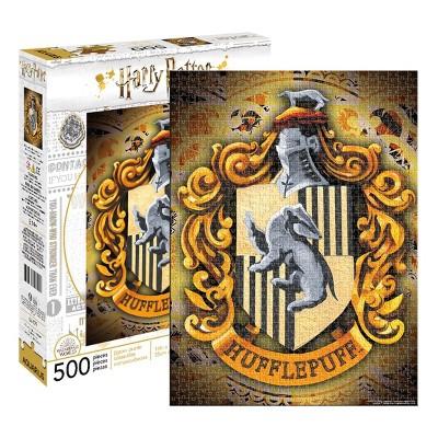NMR Distribution Harry Potter Hufflepuff Logo 500 Piece Jigsaw Puzzle