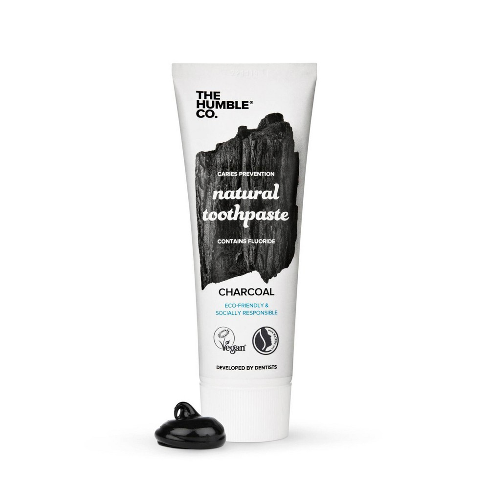 Image of The Humble Co. Charcoal Toothpaste - 2.54oz