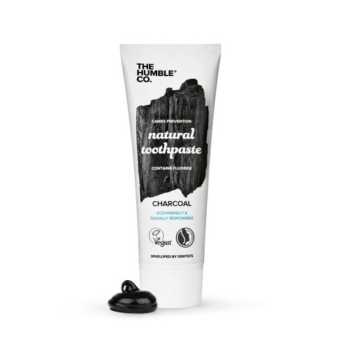 The Humble Co. Charcoal Toothpaste - 2.54oz - image 1 of 3