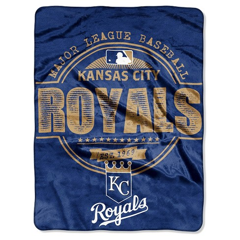 "MLB Kansas City Royals Throw Blanket - 46""x60"" - image 1 of 1"