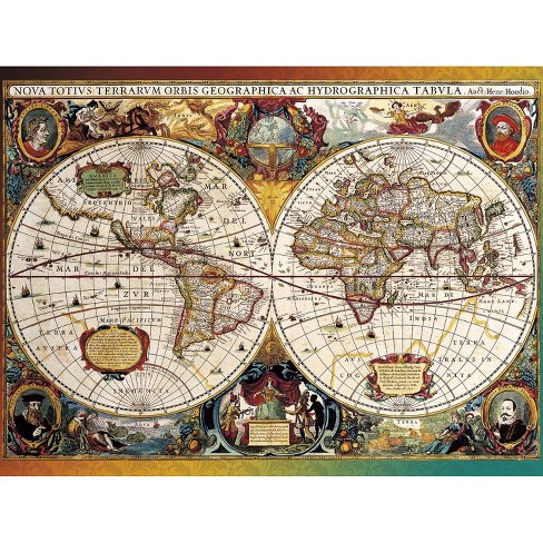 Buffalo Games Going Places: World Map, Circa 1630 Puzzle 750pc - image 1 of 2