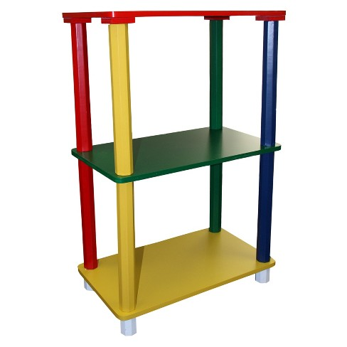 Kids 3 Tier Corner Shelves