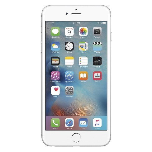 Apple iPhone 6s Plus Certified Pre-Owned (GSM Unlocked) 16GB Smartphone - Silver - image 1 of 2