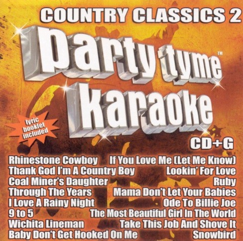 Party tyme karaoke - Country classics 2 (CD) - image 1 of 1