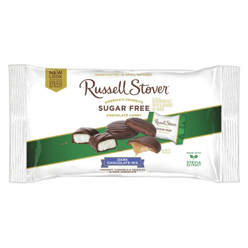Russell Stover Sugar Free Dark Chocolate Assortment - 10oz - image 1 of 1