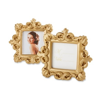 "12ct ""Royale"" Gold Baroque Place Card/Photo Holder"