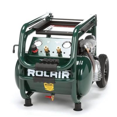 Rolair VT25BIG 5.3 Gallon Electric Wheeled Portable Compressor for tires & tools