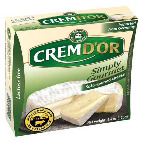 Crem D'or Simply Gourmet Soft-Ripened Cheese - 4.4oz - image 1 of 1