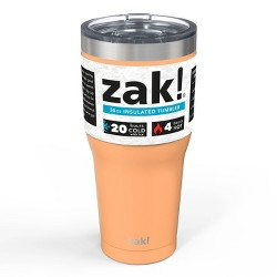 Zak! Designs 30oz Double Wall Stainless Steel Tumbler