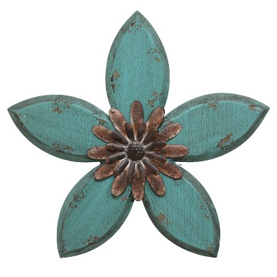 Antique Flower Wall Decor - Stratton Home Decor