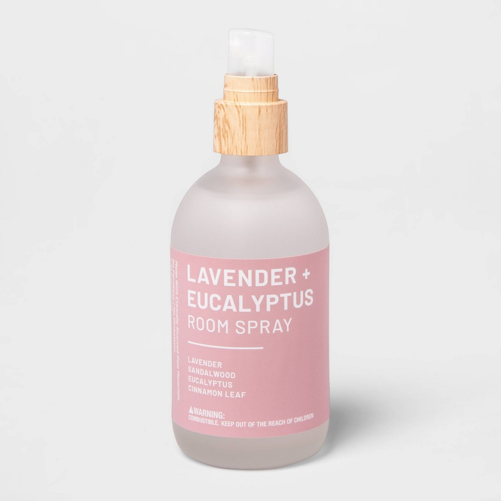 Image of 3.3 fl oz Wellness Essential Oil Room Spray Lavender & Eucalyptus - Project 62