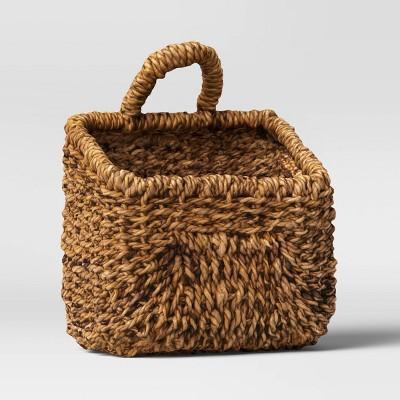 "10"" x 14"" Woven Hanging Basket - Threshold™"
