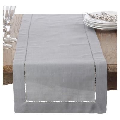 Grey Classic Design Table Runner (16 x72 )- Saro Lifestyle®