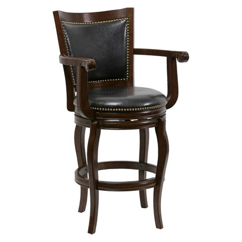"Jones 29"" Barstool Hardwood/Cappuccino - Boraam - image 1 of 2"
