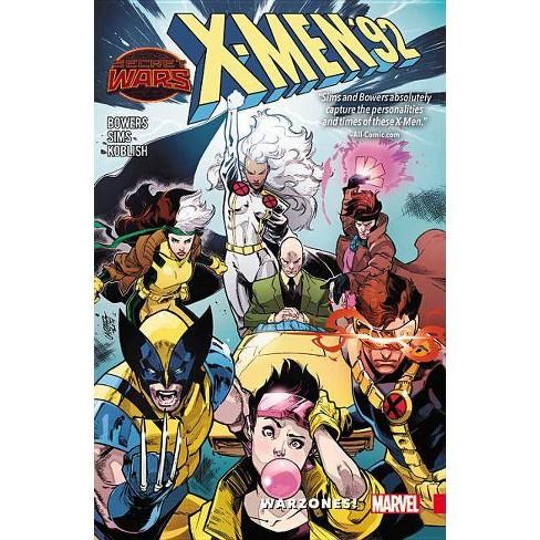 X-Men '92: Warzones! - (Paperback) - image 1 of 1