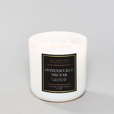 8.8oz Honeysuckle Nectar Candle - The Collection by Chesapeake Bay Candle