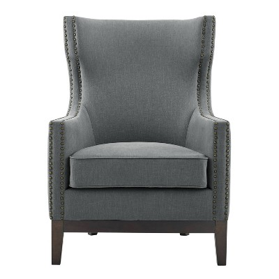 """18"""" Roswell Linen Accent Chair - Steve Silver"""
