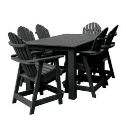 Hamilton 7pc Rectangular Counter Height Dining Set 72X42 - Highwood