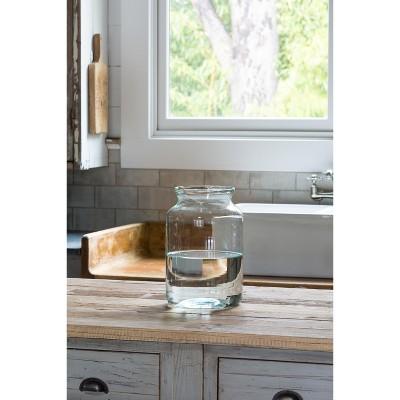 Park Hill Collection Artisan Glass Flower Vase Medium