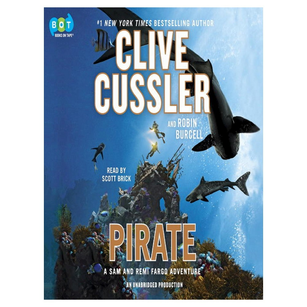 Pirate (Fargo Adventure Series #8) (Hardcover) by Clive Cussler, Robin Burcell