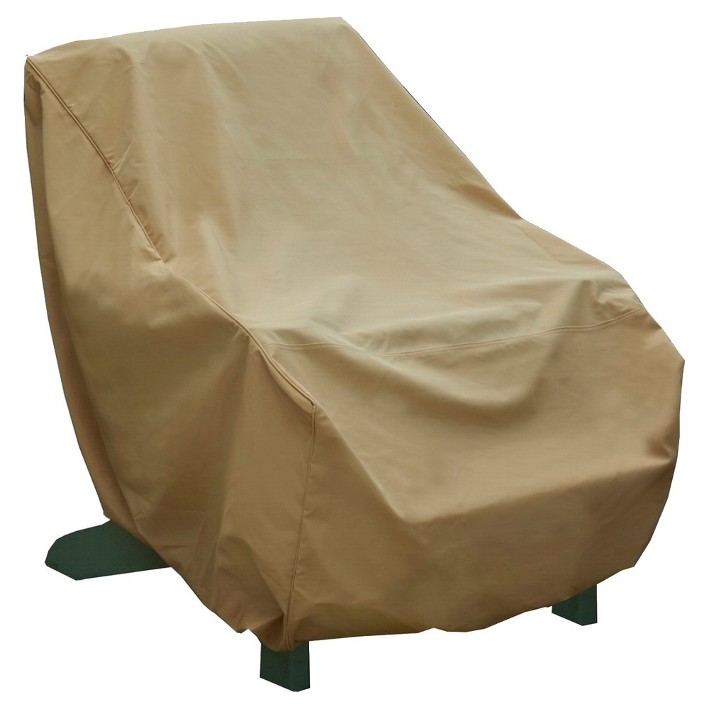 Adirondack Chair Cover XL - Sand (Brown) - Seasons Sentry