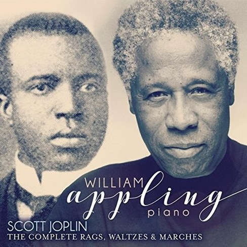 William Appling - Joplin:Complete Rags Waltzes & Marche (CD) - image 1 of 1