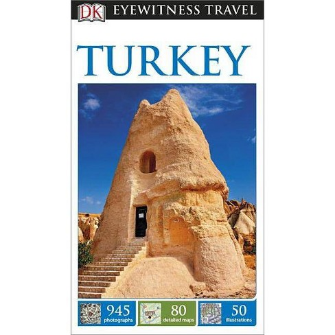DK Eyewitness Turkey - (Travel Guide) (Paperback) - image 1 of 1