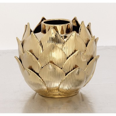 Decorative Container Gold - Olivia & May