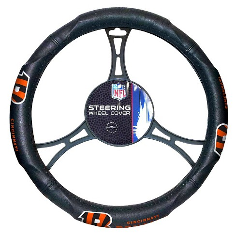 NFL Cincinnati Bengals Steering Wheel Cover - image 1 of 1