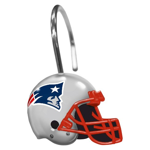 Northwest New England Patriots Shower Curtain Rings Target