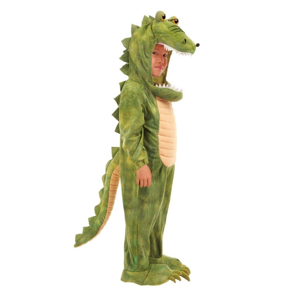 Image of Halloween Baby Boys' Al Gator Costume 6-12M, Boy's, Size: 6-12 Months, MultiColored